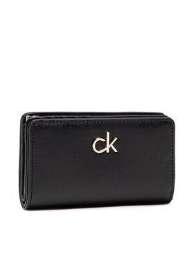 Calvin Klein Calvin Klein Didelė Moteriška Piniginė Billfold French Wallet K60K608247 Juoda
