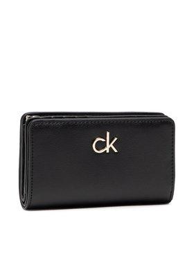 Calvin Klein Calvin Klein Μεγάλο Πορτοφόλι Γυναικείο Billfold French Wallet K60K608247 Μαύρο