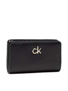 Calvin Klein Calvin Klein Veliki ženski novčanik Billfold French Wallet K60K608247 Crna