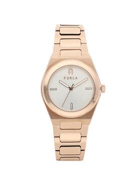 Furla Furla Zegarek Tempo Mini WW000-14MT0000-1G-008-20-CN-W Złoty