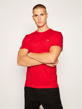 Lacoste Lacoste T-shirt TH2038 Rosso Regular Fit
