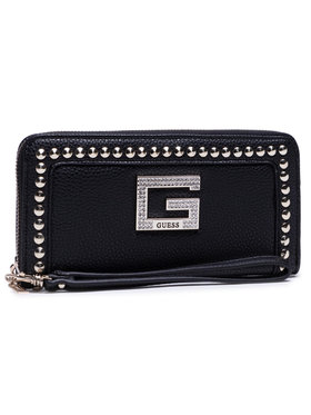 Guess Guess Великий жіночий гаманець Bling (Vg) Slg SWVG79 84460 Чорний