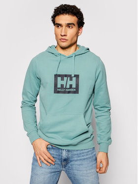 Helly Hansen Helly Hansen Bluza Box 53289 Zielony Regular Fit