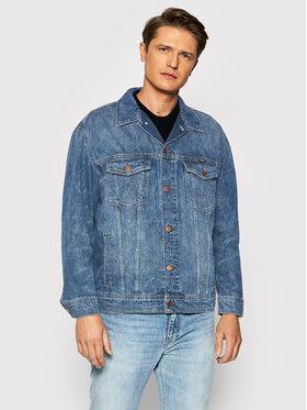 Wrangler Wrangler Kurtka jeansowa Anti Fit W459SF667 Niebieski Regular Fit