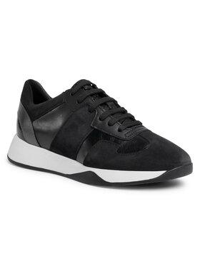 Geox Geox Sneakersy D Suzzie B D94FRB 0BN22 C9999 Čierna