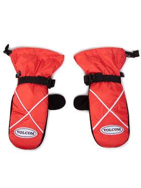 Volcom Volcom Lyžiarske rukavice X-Mitt J6852114 Červená