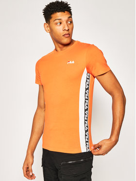 Fila Fila T-shirt Tobal Tee 687709 Orange Regular Fit