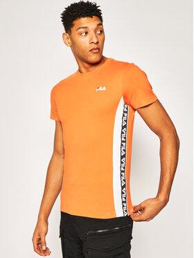 Fila Fila T-Shirt Tobal Tee 687709 Pomarańczowy Regular Fit