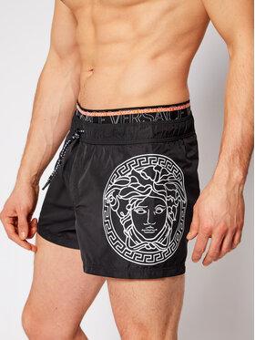 Versace Versace Szorty kąpielowe Medusa ABU13009 Czarny Regular Fit