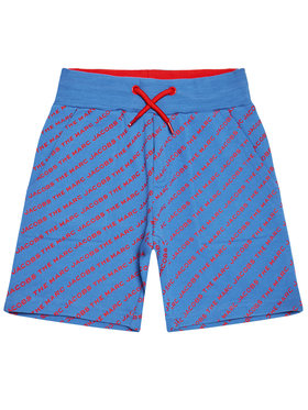 Little Marc Jacobs Little Marc Jacobs Sportovní kraťasy W24231 D Modrá Regular Fit