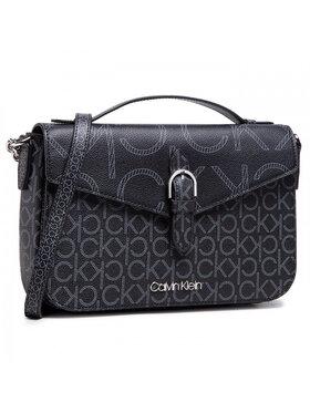 Calvin Klein Calvin Klein Táska Shoulder Bag W/Top H Mono Scl K60K607672 Fekete
