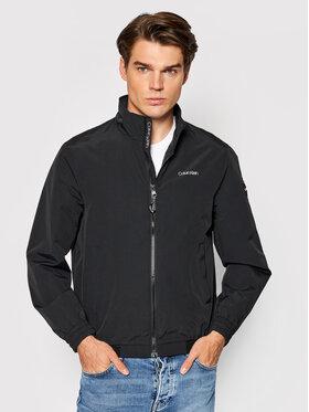 Calvin Klein Calvin Klein Преходно яке Essential Bluuson K10K107334 Черен Regular Fit