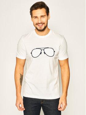 MICHAEL Michael Kors MICHAEL Michael Kors T-shirt Spring 1 CS05JCJFV4 Bijela Regular Fit