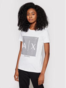 Armani Exchange Armani Exchange T-shirt 3KYTKE YJW3Z 9152 Blanc Regular Fit