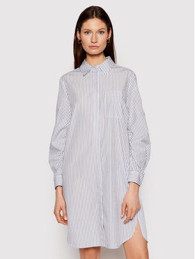 Marc O'Polo Marc O'Polo Sukienka koszulowa 103 0885 21109 Biały Regular Fit