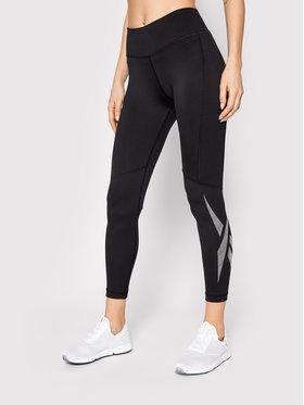 Reebok Reebok Leggings Workout Ready Vector GI6866 Crna Slim Fit