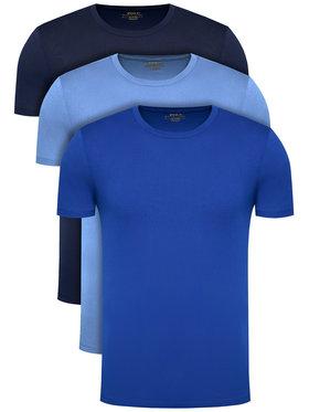 Polo Ralph Lauren Polo Ralph Lauren Set 3 tricouri Classic Crew 714830304006 Bleumarin Regular Fit