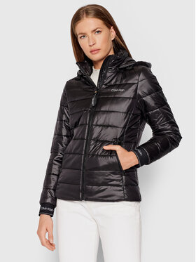 Calvin Klein Calvin Klein Pūkinė striukė Essential K20K202994 Juoda Regular Fit