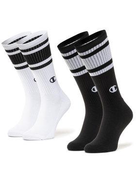 Champion Champion Комплект 2 чифта дълги чорапи мъжки CH0008SU-8WV Черен