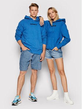 Levi's® Levi's® Mikina Unisex Graphic A2410-0004 Modrá Standard Fit