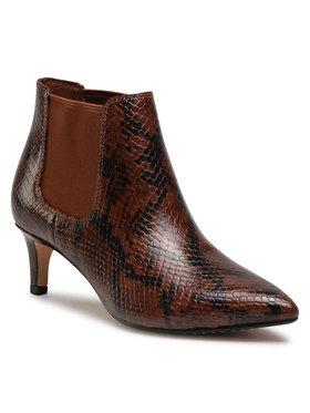 Clarks Clarks Členková obuv Lalna55 Boot2 261513634 Hnedá
