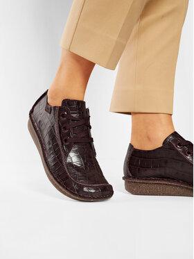 Clarks Clarks Κλειστά παπούτσια Funny Dream 261510684 Μπορντό
