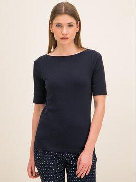 Lauren Ralph Lauren Lauren Ralph Lauren Μπλουζάκι 200654963 Σκούρο μπλε Regular Fit