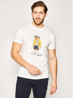 Polo Ralph Lauren Polo Ralph Lauren T-Shirt Classics 710795737 Biały Regular Fit