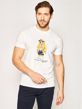 Polo Ralph Lauren Polo Ralph Lauren T-Shirt Classics 710795737 Weiß Regular Fit