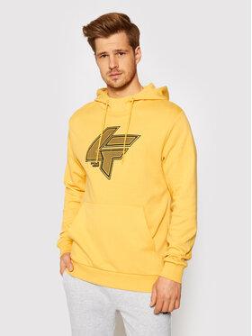 4F 4F Sweatshirt H4L21-BLM010 Gelb Regular Fit