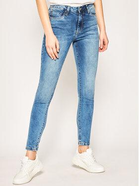 Pepe Jeans Pepe Jeans Skinny Fit džínsy Regent PL200398 Modrá Skinny Fit