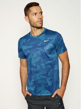 Nike Funkčné tričko Dry Leg Tee Camo CK4252 Sivá Standard Fit