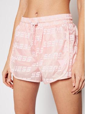 Guess Guess Bavlnené šortky O1GA28 WDEZ0 Ružová Regular Fit