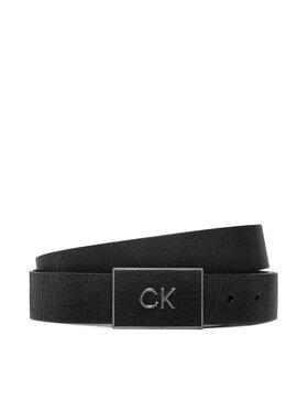 Calvin Klein Calvin Klein Pasek Męski Ck Plaque 35mm K50K507883 Czarny