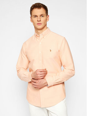Polo Ralph Lauren Polo Ralph Lauren Риза Classic Oxford 710795462008 Оранжев Custom Fit