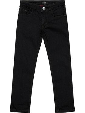 Boss Boss Τζιν J24670 D Μαύρο Slim Fit