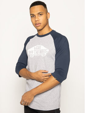 Vans Vans Tricou Raglan Athletic VN000XXMKOO1 Gri Shaped Fit