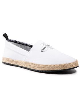 Calvin Klein Jeans Calvin Klein Jeans Espadryle Espadrille YM0YM00010 Biały