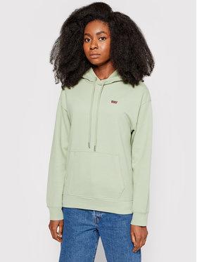 Levi's® Levi's® Majica dugih rukava Standard 24693-0022 Zelena Regular Fit