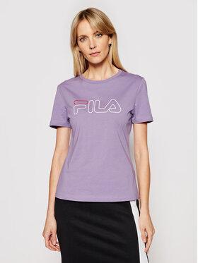 Fila Fila T-shirt Ladan 683179 Viola Regular Fit