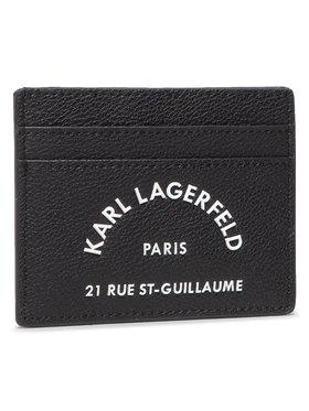 KARL LAGERFELD KARL LAGERFELD Etui na karty kredytowe 205W3237 Czarny