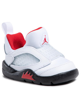 Nike Nike Обувки Jordan 5 Retro Little Flex Td CK1228 100 Бял