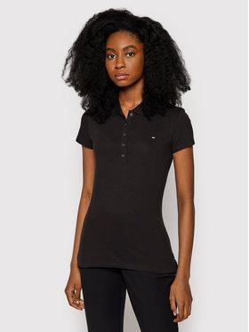Tommy Hilfiger Tommy Hilfiger Polo marškinėliai 1M57636661 Juoda Slim Fit