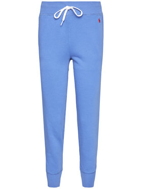 Polo Ralph Lauren Polo Ralph Lauren Teplákové kalhoty Akl 211794397006 Modrá Regular Fit