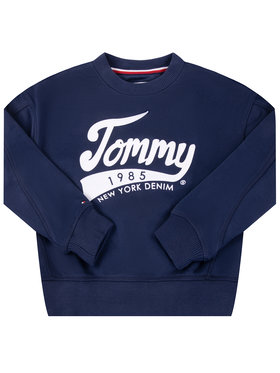 Tommy Hilfiger Tommy Hilfiger Bluză 1985 KG0KG04955 M Bleumarin Regular Fit