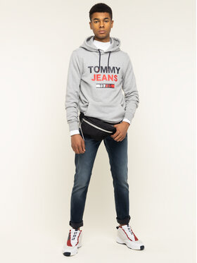 Tommy Jeans Tommy Jeans Jeansy Slim Fit Scanton DM0DM07323 Granatowy Slim Fit