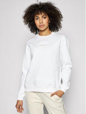 Calvin Klein Jeans Calvin Klein Jeans Bluză J20J215485 Alb Regular Fit
