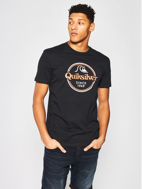 Quiksilver Quiksilver T-Shirt Words Remain EQYZT05753 Černá Regular Fit