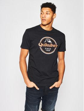 Quiksilver Quiksilver T-Shirt Words Remain EQYZT05753 Czarny Regular Fit