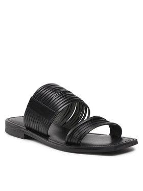 Carinii Carinii Mules / sandales de bain B6123 Noir